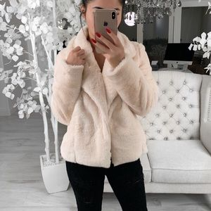 🆕Teddy bear faux fur jacket